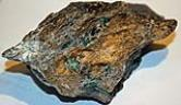 Schist host with emeralds