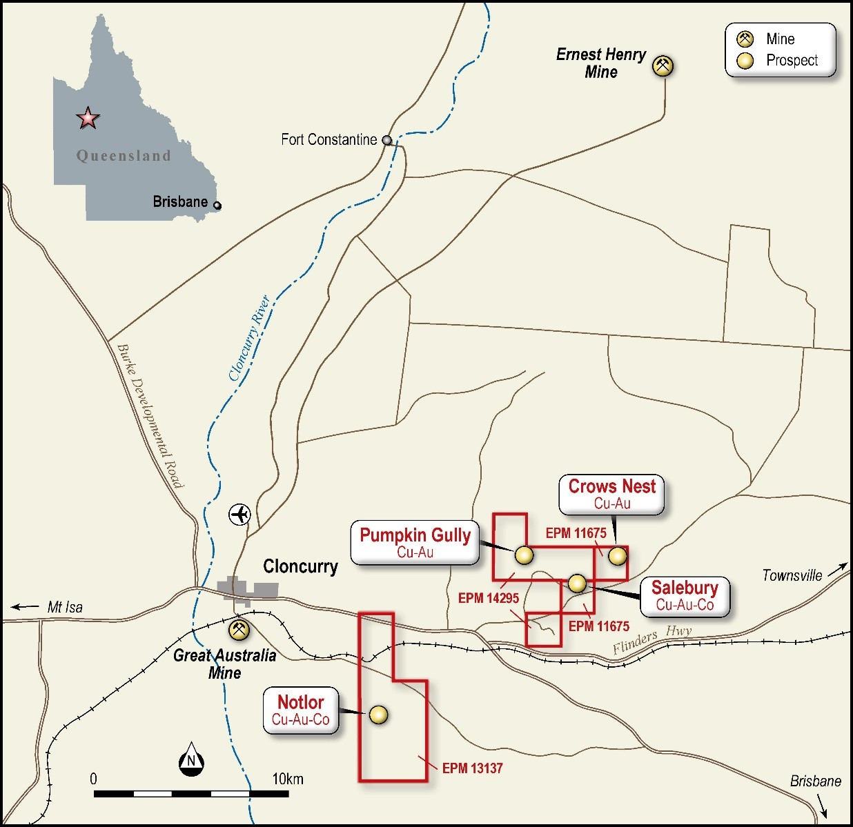 Cloncurry East Project