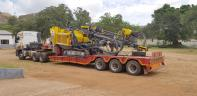 Drill Rig Arrival
